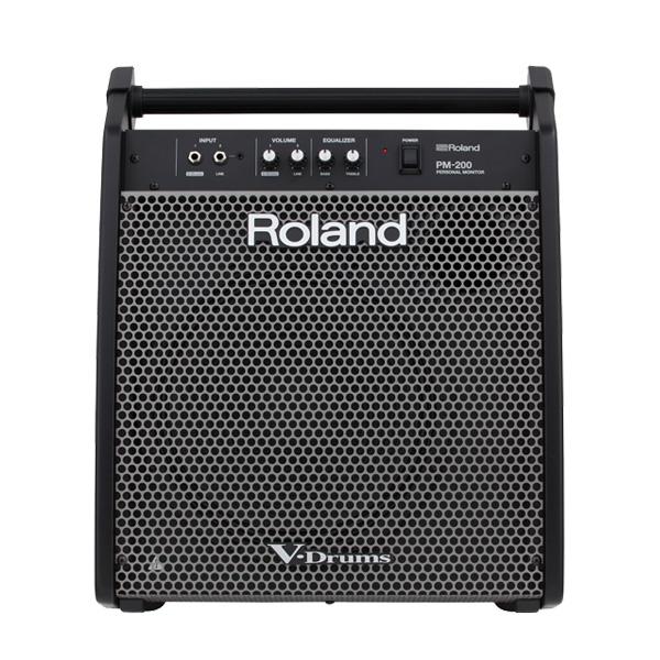 Vドラムに最適なパーソナル モニター Roland スピード対応 全国送料無料 ローランド スピーカー 180W 買い物 ドラム PM-200