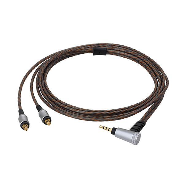 audio-technica(オーディオテクニカ) / HDC212A/1.2 (1.2m) - 2.5mm 金メッキバランス4極プラグ ヘッドホン用着脱ケーブル -