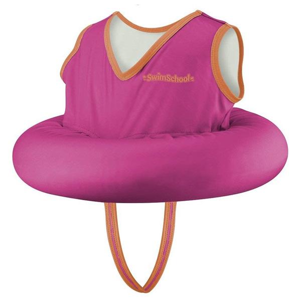 【緊急告知 12/19~26限定エントリ―P7倍】SwimSchool(スイムスクール) / Deluxe Tot Trainer(ピンク) 子供用 着衣型 浮き輪 海外品