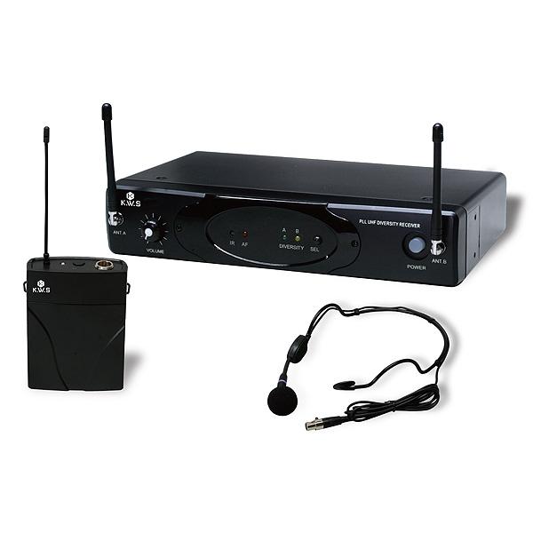 K.W.S / KWS-899P/HM-38 - ワイヤレスシステム ヘッドセットタイプ マイク -