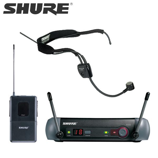 SHURE / PGX14/WH20 ワイヤレスヘッドセット 【ヘッドウォーンマイク】 シュアー 国内正規品