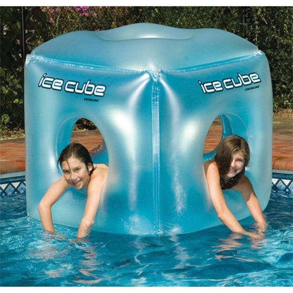 Swimline / Ice Cube 氷型 キューブ型 浮き輪 海外品 スイムライン