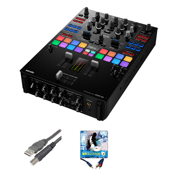 2大特典付 Pioneer(パイオニア) / DJM-S9 - SERATO DJ専用2CHミキサー-