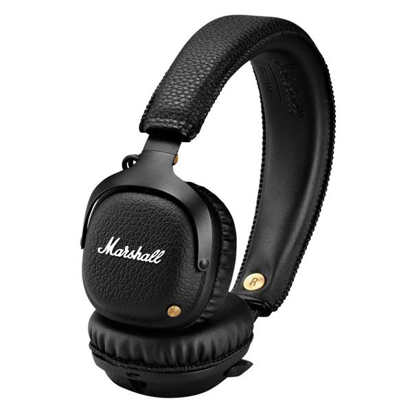 Marshall MID BLUETOOTH (BLACK) Bluetooth対応ワイヤレスヘッドホン 直輸入品 マーシャル