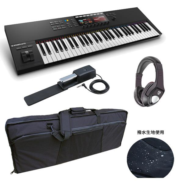3大特典付 【撥水ケースプレゼント!】KOMPLETE KONTROL S61 MK2 / Native Instruments(ネイティブインストゥルメンツ) - MIDIキーボード61鍵 -
