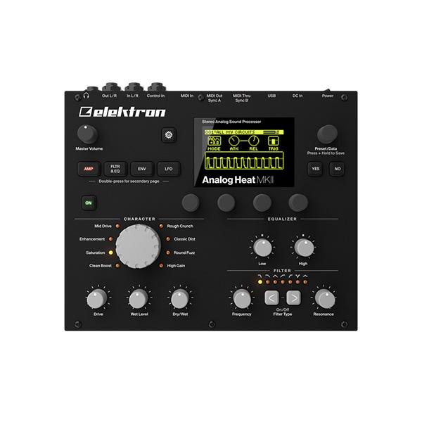 Elektron(エレクトロン) / Analog Heat Mk2 ー ステレオ・アナログ・サウンドプロセッサ -
