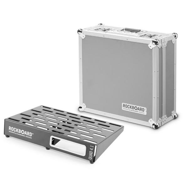 Warwick(ワーウィック) / RockBoard QUAD 4.1 46 x 32,6 with Flightcase ペダルボード 【フライトケース付き】 【納期はお問い合わせ下さい】