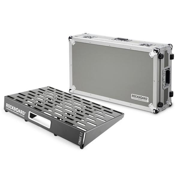 Warwick(ワーウィック) / RockBoard CINQUE 5.2 61 x 41,6 with Flightcase ペダルボード 【フライトケース付き】 【納期はお問い合わせ下さい】