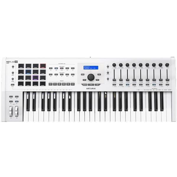 Arturia / KEYLAB 49 MK 2 (White) アートリア MIDIキーボード・コントローラー