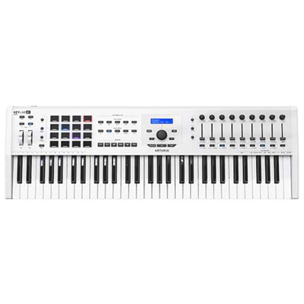 Arturia / KEYLAB 61 MK 2 (White) アートリア MIDIキーボード・コントローラー
