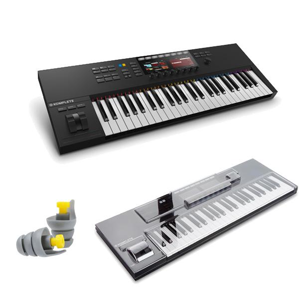 【破格値下げ】 2大特典付 KOMPLETE KONTROL S49 MK2/ Native Instruments(ネイティブインストゥルメンツ) - MIDIキーボード49鍵 - 【専用デッキセーバーセット】, 非常に高い品質 2a2b623e