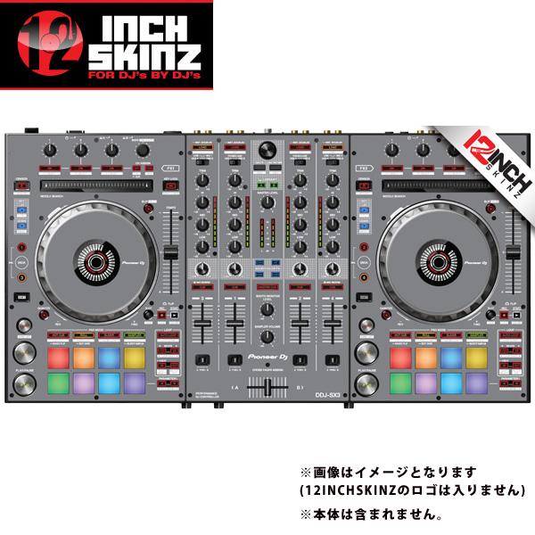 12inch SKINZ / Pioneer DDJ-SX3 SKINZ(Gray) 【DDJ-SX3用スキン】