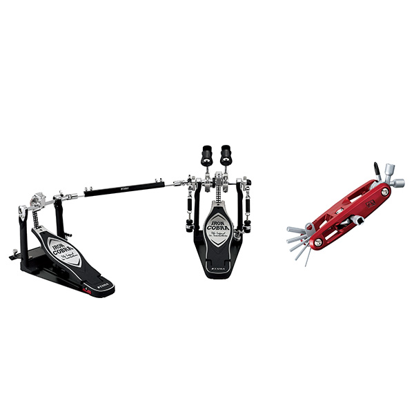 "TAMA(タマ) COBRA/ HP900PWNB 25th Pedal [Power Glide LiteSprocket Twin Pedal/ Bonus Package ~Free ""Red"" Multi Tool~]【IRON COBRA 25th Anniversary】【マルチツール""レッド""プレゼント!】, Y'm style (ワイムスタイル):993567f0 --- officewill.xsrv.jp"