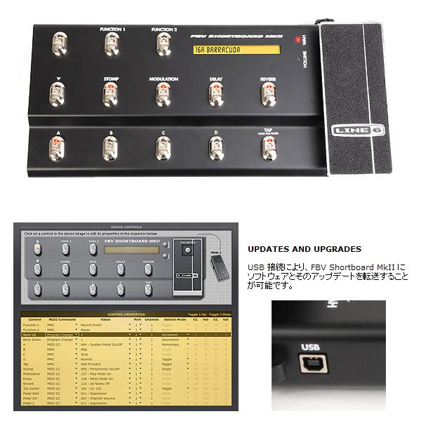 LINE6(ラインシックス) / FBV SHORTBOARD MKII フット・コントローラー