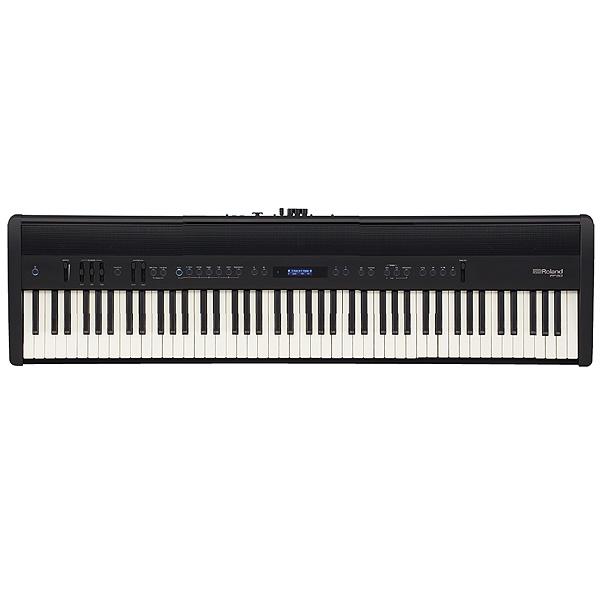 Roland(ローランド) / FP-60-BK (ブラック) -ポータブル・ピアノ - 【譜面立て、ダンパー・ペダル(DP-10)付属】