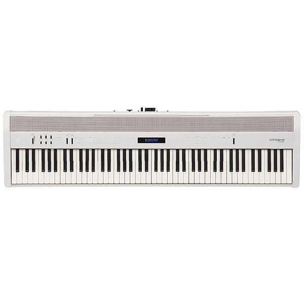 Roland(ローランド) / FP-60-WH (ホワイト) -ポータブル・ピアノ - 【譜面立て、ダンパー・ペダル(DP-10)付属】