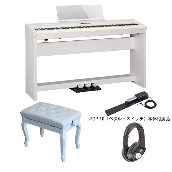 【専用スタンド、ペダル、猫足ベンチセット】Roland(ローランド) / FP-60-WH (ホワイト)