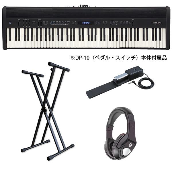 【フレンズオススメAセット】Roland(ローランド) / FP-60-BK (ブラック)