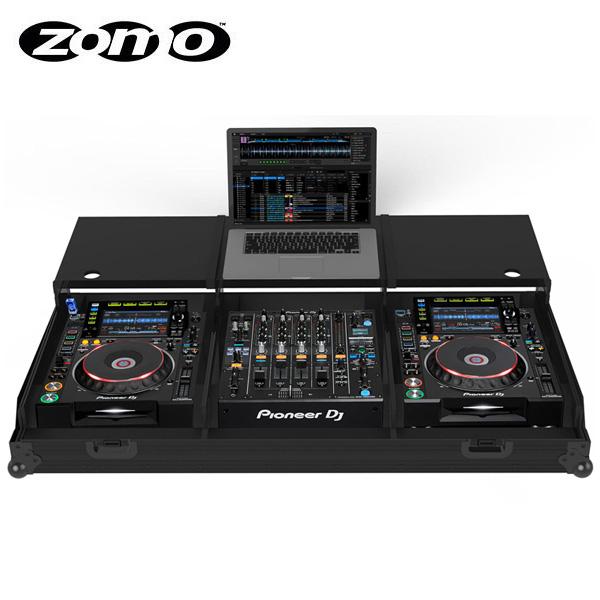 Zomo(ゾモ) / Flightcase Set 2900MK2 Plus NSE 【Pioneer CDJ-2000NXS2, CDJ-1000, CDJ-900, CDJ-800 x2 + Pioneer DJM-900NXS2 対応】 - フライトケース -