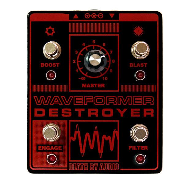 1大特典付 Death by Audio / WAVEFORMER DESTROYER ノイズファズ 《ギターエフェクター》 直輸入品 デスバイオーディオ