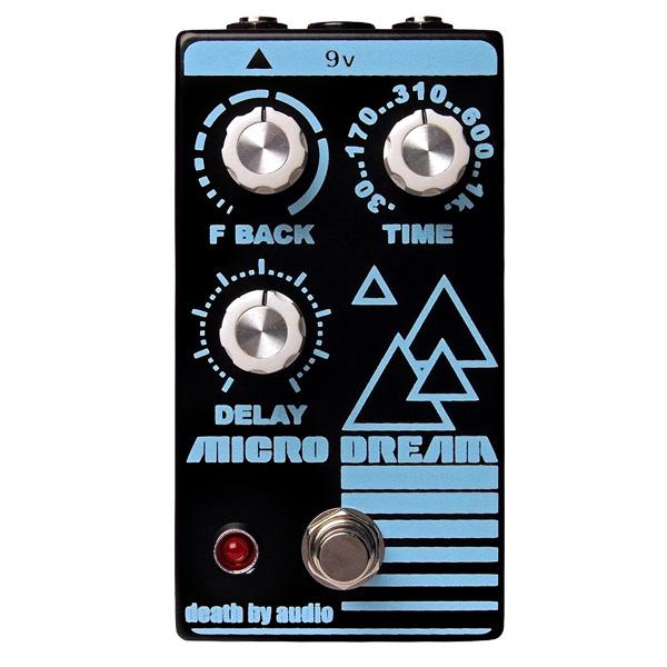 1大特典付 Death by Audio / MICRO DREAM ディレイ 《ギターエフェクター》 直輸入品 デスバイオーディオ