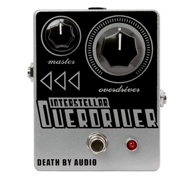 1大特典付 Death by Audio / INTERSTELLAR OVERDRIVE オーバードライブ 《ギターエフェクター》 直輸入品 デスバイオーディオ