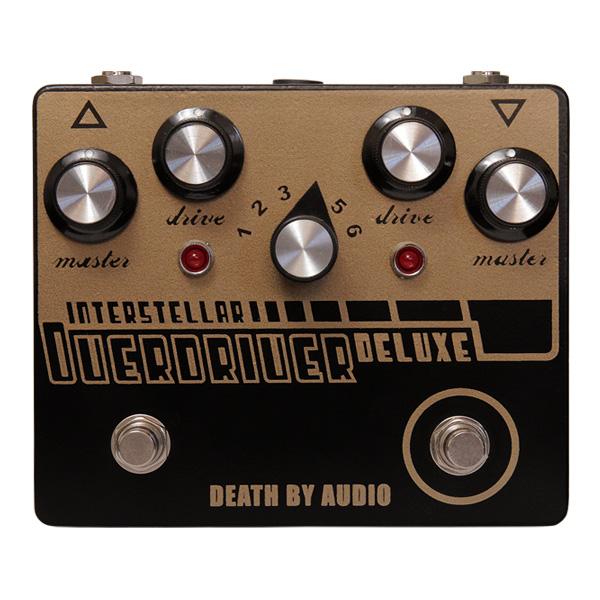 1大特典付 Death by Audio / INTERSTELLAR OVERDRIVE DELUXE オーバードライブ 《ギターエフェクター》 直輸入品 デスバイオーディオ