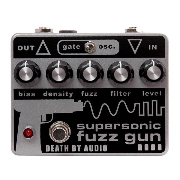 1大特典付 Death by FUZZ SUPERSONIC Audio/ by SUPERSONIC FUZZ GUN ブルックリン・ビザール・ファズ 《ギターエフェクター》 デスバイオーディオ, ヨカワチョウ:9e14c03c --- sunward.msk.ru