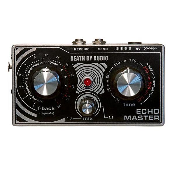 1大特典付 Death by Audio / ECHO MASTER ディレイ&プリアンプ ボーカル専用エフェクター 《ギターエフェクター》 直輸入品 デスバイオーディオ