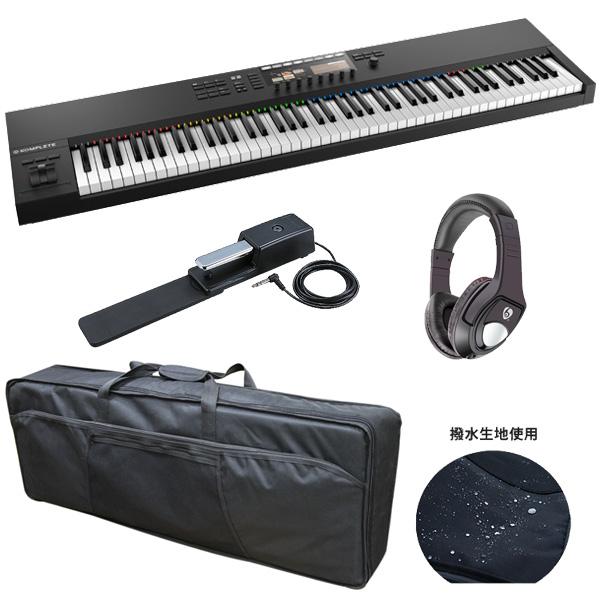 【ファッション通販】 3大特典付 Native【収納ケースプレゼント!】 Native Instruments(ネイティブインストゥルメンツ)/ S88 KOMPLETE KONTROL KOMPLETE S88 MK2 - MIDIキーボード88鍵 -, タマキチョウ:88e1ed30 --- clftranspo.dominiotemporario.com