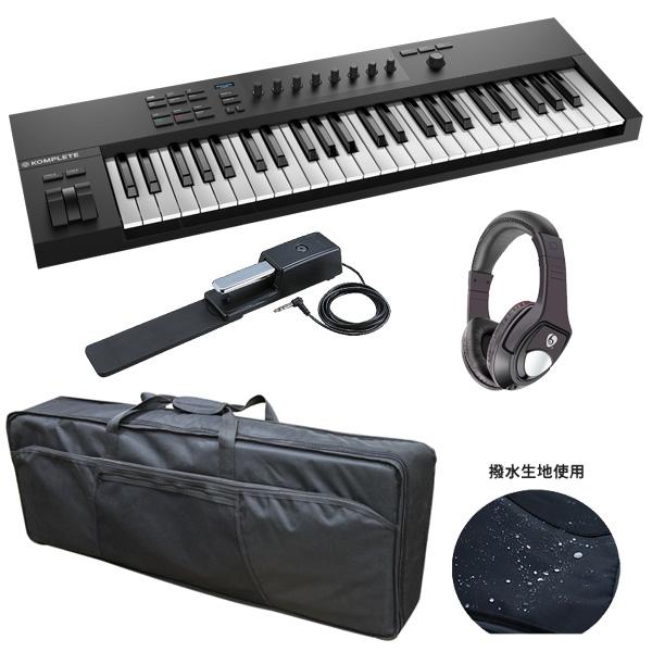 3大特典付 【撥水ケースプレゼント!】 Native Instruments(ネイティブインストゥルメンツ) / KOMPLETE KONTROL A49 - MIDIキーボード49鍵 -