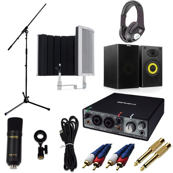 【 高品質ボーカルレコーディングセットC 】 Marantz(マランツ) MPM-1000U / Rubix22 / Sound Shield Live セット【次回納期未定】