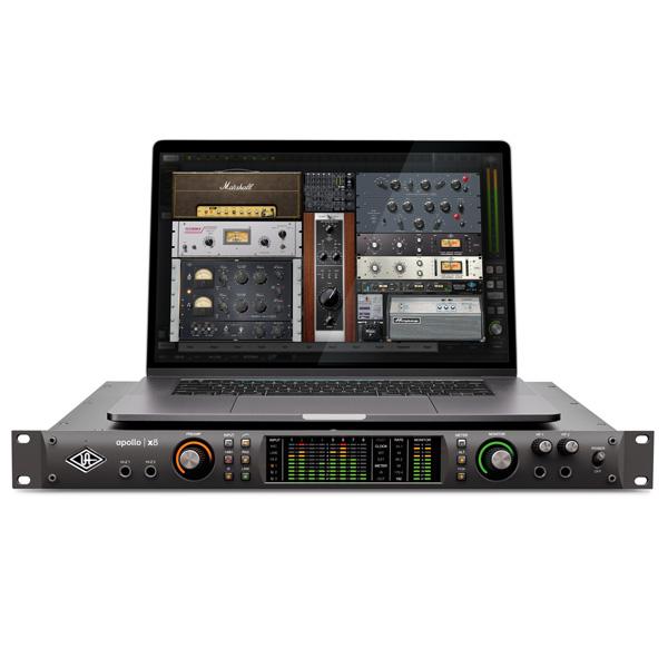 Universal Audio(ユニバーサルオーディオ) / Apollo X8 - 4xUnisonマイクプリアンプ搭載18イン/24アウトオーディオインターフェイス -