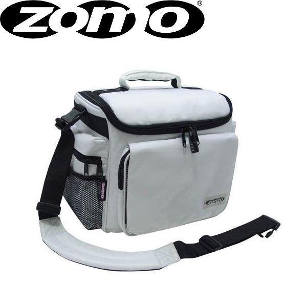Zomo(ゾモ) DJ-Tank (White) CDホルダー付き 12インチレコード 約70枚収納可能レコードバッグ