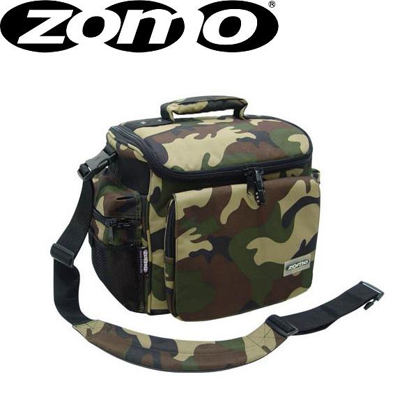 Zomo(ゾモ) DJ-Tank (Camouflage Green) CDホルダー付き 12インチレコード 約70枚収納可能レコードバッグ