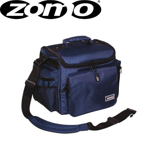 Zomo(ゾモ) DJ-Tank (Navy) CDホルダー付き 12インチレコード 約70枚収納可能レコードバッグ