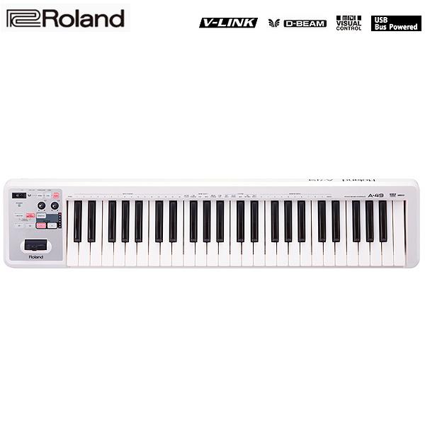 Roland(ローランド) / A-49-WH MIDI Keyboard Controller (ホワイト) - MIDIキーボード・コントローラー -
