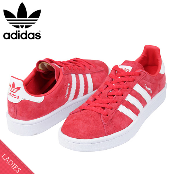 c917312934d miami records  Shoes DB1018 Rakuten mail order for the adidas Adidas CAMPUS  W SUEDE Lady s sneakers CORAL PINK campus pink suede leather shoes woman ...