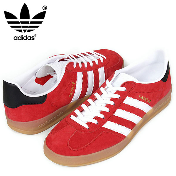 red adidas gazelle indoor
