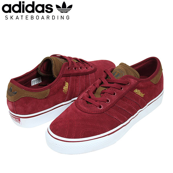 best service 3aee3 00efe I play adidas skateboarding X Official Adidas ADI-EASE PREMIERE ADV men  sneakers BURGUNDYBROWN and sell shoes SB B72597 Rakuten for the brown  suede ...