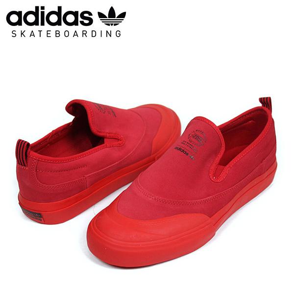 adidas skateboarding Adidas MATCHCOURT SLIP ADV men sneakers [RED] slip ons men red