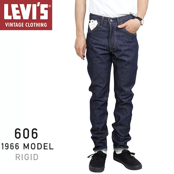 0d97bc3d62fbee Levi's Vintage Clothing 606 BIG E 1966 MODEL men slim denim underwear  [RIGID] Levis ...