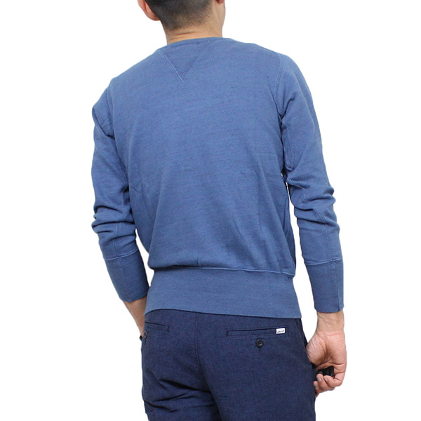 7ba8a5f6 Levi's Vintage Clothing Levis vintage closing BAY MEADOWS men sweat shirt  [DENIM] LVC tops sweat shirt trainer indigo LEVIS 21,931-0005 Rakuten mail  ...