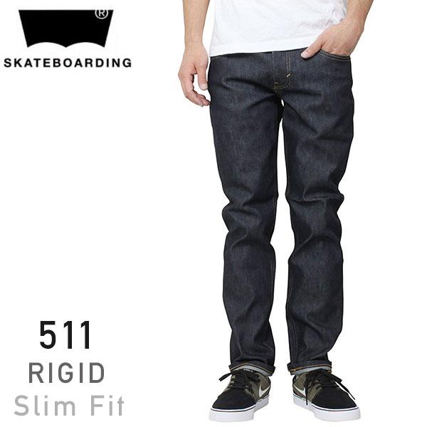 46b17d97def miami records: Levi's Skateboarding 511 slim rigid denim pants [INDIGO RIGID,  Levi's skateboarding skateboard pants and skirts 95581-0001 10P19Jun15 ...