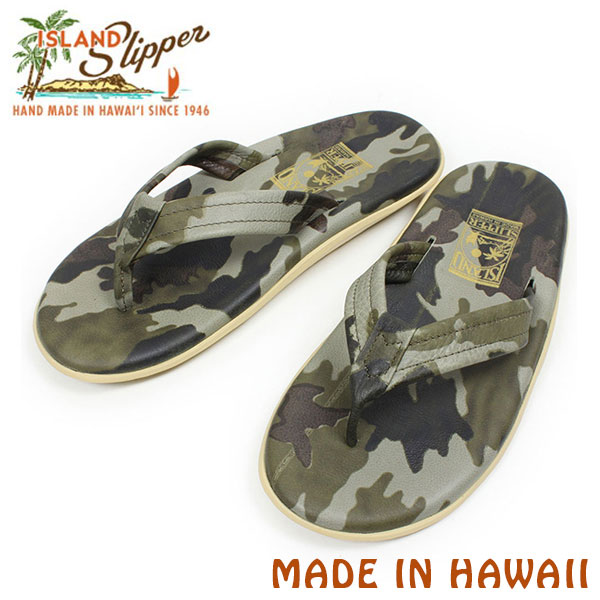 miami records | Rakuten Global Market: ISLAND SLIPPER Island slippers PT202C leather Sandals [OLIVE CAMO, men's sandal spring summer camouflage Camo Beach ...