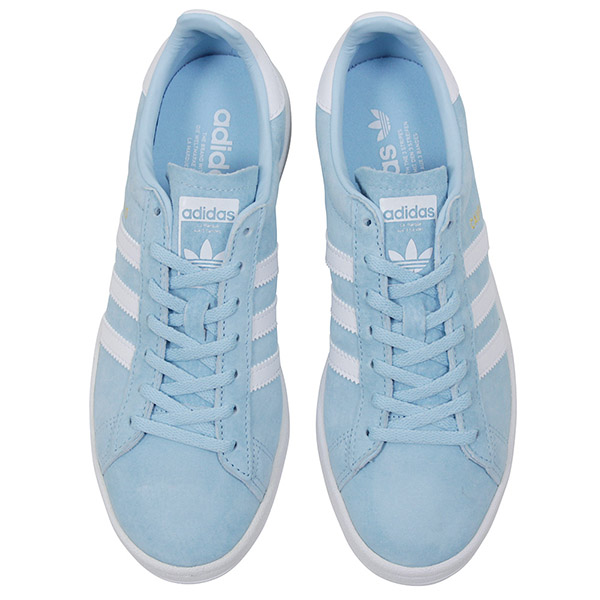 f88eac46629 Shoes BY9844 Rakuten mail order for the adidas Adidas CAMPUS W SUEDE Lady s  sneakers ICE BLUE campus ice blue sax suede leather shoes woman