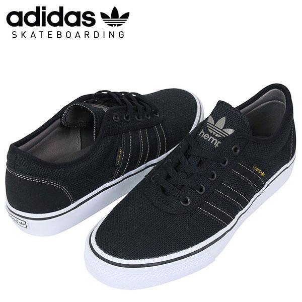 adidas skateboarding adidas ADI EASE Hemp sneakers [BLACK] men's skate shoes scosche black