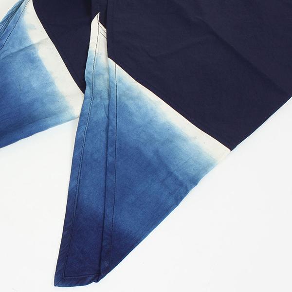 AZUMA BAG × THE DAWN B アズマバッグ 양수 쪽빛 외 그라데이션 LARGE [JAPAN BLUE] 책 쪽빛 염색 보 자기 정자 부 대 일본 전통 MADE IN JAPAN 일본 만든 에코 가방 토드백 맨 즈 레이디스 해군 라쿠텐 쇼핑몰