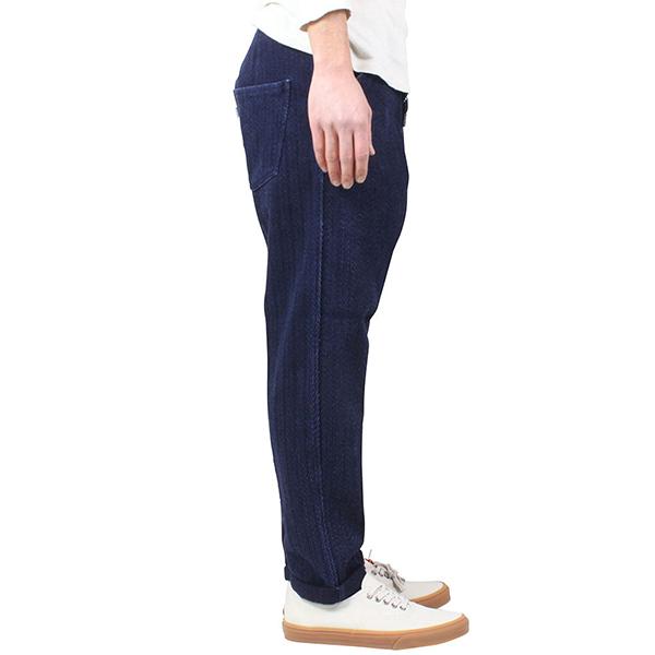 Levi's MadeCrafted インディゴ染め ヘリンボーン織り Drop Out Pants INDIGO リーバイス メイド クラフテッド メンズ パンツ 藍染め ジーンズ イージーパンツ LVC 59121 0006送料無料通販RCPXNw80ZnkOP
