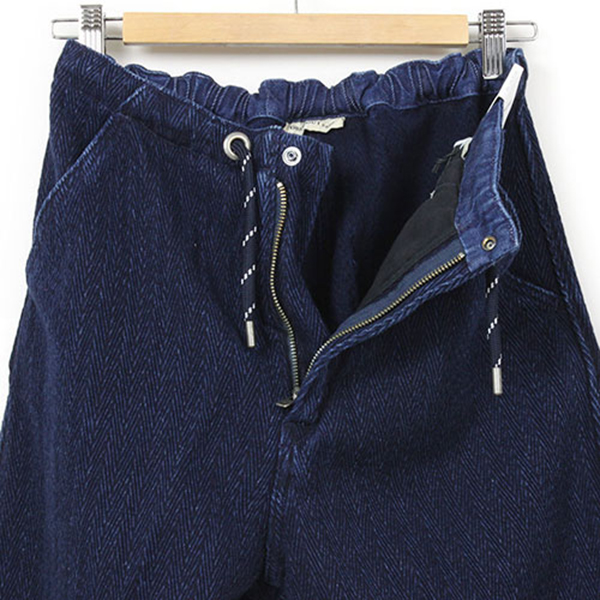 Levi 's Made & Crafted 남 빛 염색 헤링 본 직조 Drop Out Pants [INDIGO] 레 위 메이드 & クラフテッド 남성 바지 남 빛 쪽빛 째 진 치 노 팬츠 LVC 59121-0006 10P08Feb15